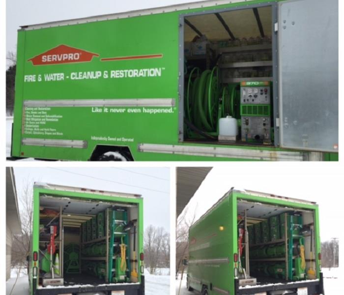 Our Truck is Fully Equipped to Handle the next Water or Sewer Damage Call!