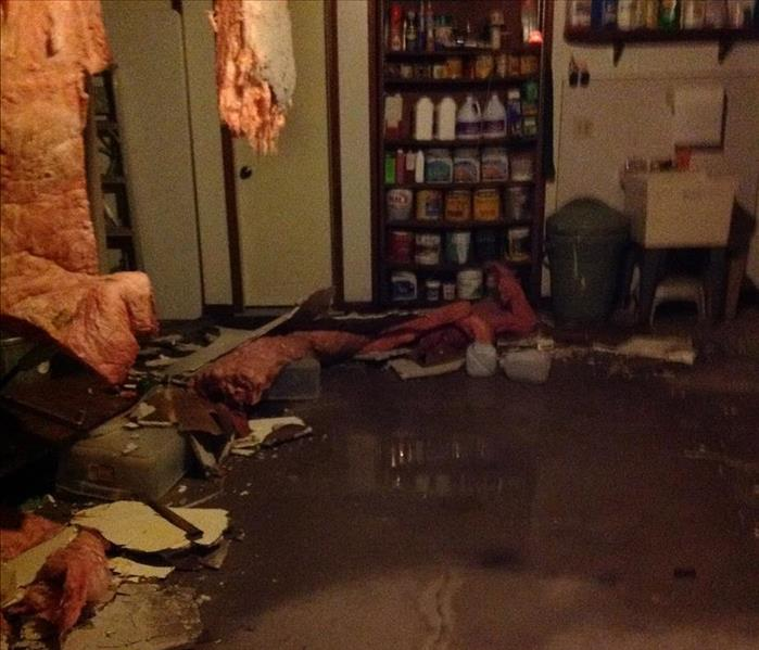 Ceiling Fell in After Water Damages Home