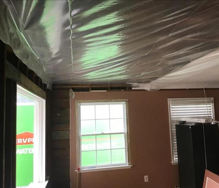 Roof Leak Containment